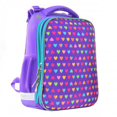 Рюкзак школьный каркасный 1 Вересня H-12-1 Hearts, 38*29*15 554484