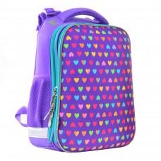 Рюкзак каркасный H-12-1 Hearts, 38*29*15