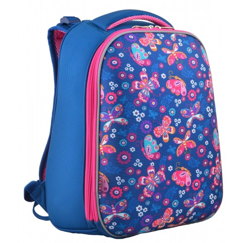 Рюкзак школьный каркасный 1 Вересня H-12-1 Butterfly, 38*29*15 554488