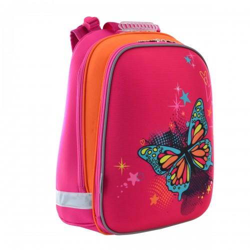 Рюкзак школьный каркасный 1 Вересня H-12 Butterfly, 38*29*15 554579