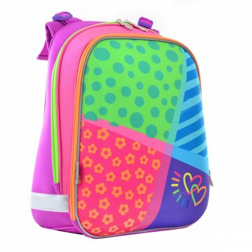 Рюкзак школьный каркасный 1 Вересня H-12 Bright colors, 38*29*15 554581