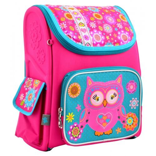 Рюкзак школьный каркасный 1 Вересня H-17 Owl, 34.5*28*13.5 555100