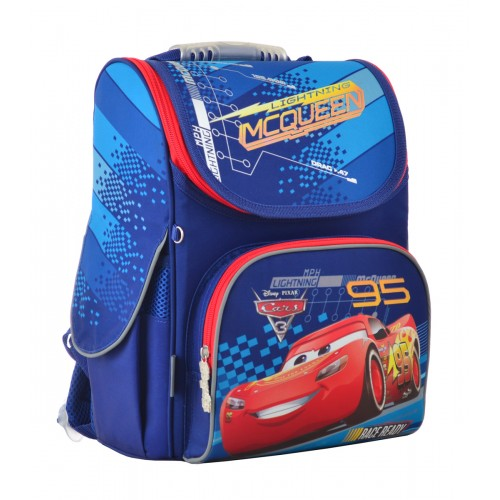 Рюкзак школьный каркасный 1 Вересня H-11 Cars, 33.5*26*13.5 555118