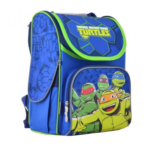 Рюкзак школьный каркасный 1 Вересня H-11 Turtles, 33.5*26*13.5 555120