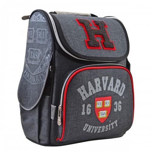Рюкзак школьный каркасный 1 Вересня H-11 Harvard, 33.5*26*13.5 555138