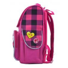Рюкзак каркасный  H-11 Barbie red, 33.5*26*13.5
