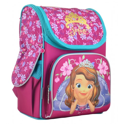 Рюкзак школьный каркасный 1 Вересня H-11 Sofia rose, 33.5*26*13.5 555168