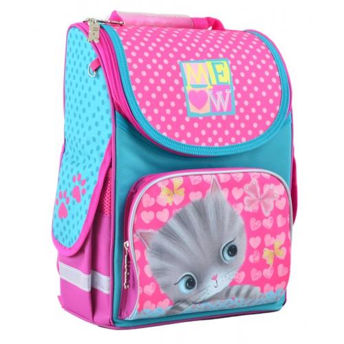 Рюкзак школьный каркасный 1 Вересня H-11 Cat, 33.5*26*13.5 555294