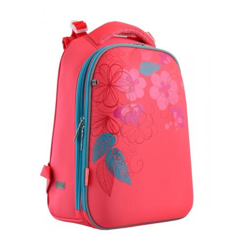 """Рюкзак школьный каркасный 1 Вересня H-12 """"Blossom"""" 556042"""