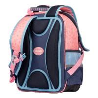 """Рюкзак школьный 1Вересня S-105 """"MeToYou"""", розовый/голубой"""