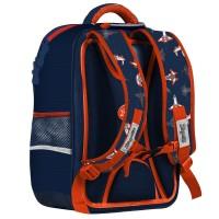 """Рюкзак школьный 1Вересня S-105 """"Space"""", синий"""