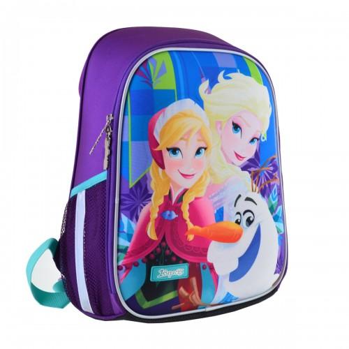"""Рюкзак школьный каркасный 1Вересня H-27 """"Frozen"""" 557711"""