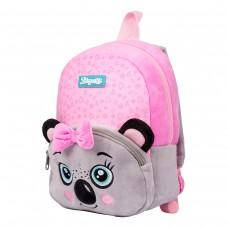 """Рюкзак детский 1Вересня K-42  """"Koala"""", розовый/серый"""