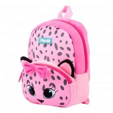"""Рюкзак детский 1Вересня K-42  """"Pink Leo"""", розовый"""