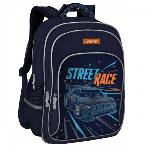 """Рюкзак школьный 1Вересня S-46 """"Street race"""" 558246"""