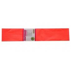 Бумага гофр. флуоресц. темно-оранжевая 20% (50см*200см)