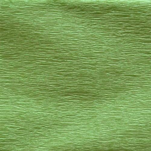 Бумага гофр. перлам. салатовая 20% (50см*200см) 705413