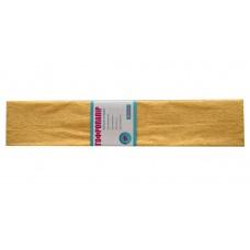 Бумага гофр. перлам. кремовая 20% (50см*200см)