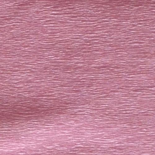 Бумага гофрированная 1Вересня перламутровая розовая 20% (50см*200см) 705417