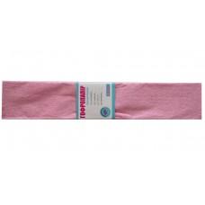 Бумага гофр. 1Вересня перлам. розовая 20% (50см*200см)