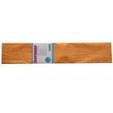 Бумага гофр. 1Вересня перлам. светло-коричневая 20% (50см*200см)