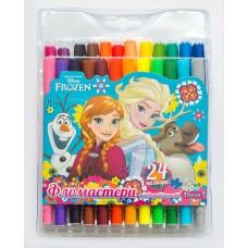 """Фломастеры 1 Вересня 24 цв. """"Frozen"""""""