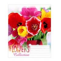 Тетрадь 1 Вересня, А-5, 12л, косая линия,  Flowers dream