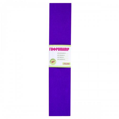 Бумага гофр. 1Вересня фиолет. 55% (50см*200см) 701516