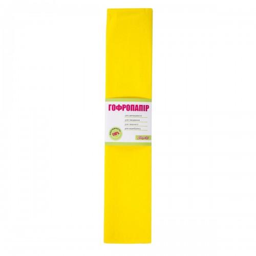 Бумага гофр. 1Вересня желт. 110% (50см*200см) 701531