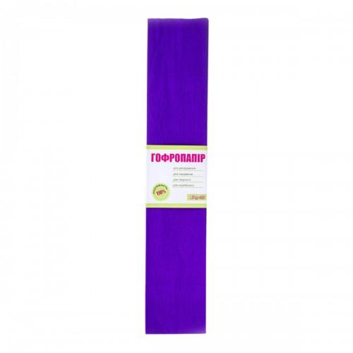 Бумага гофр. 1Вересня фиолет. 110% (50см*200см) 701540