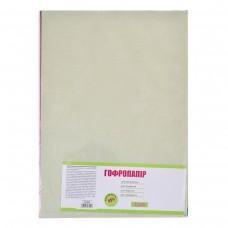 Набор бумаги гофрированной. 55% А3 10 цв. 10 л.