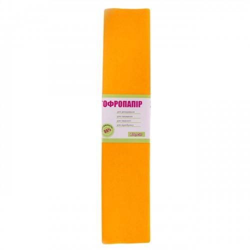 Бумага гофр. 1Вересня темно-желтая 55% (50см*200см) 705387