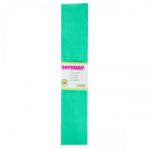 Бумага гофр. 1Вересня ярко-зелен. 55% (50см*200см) 705546
