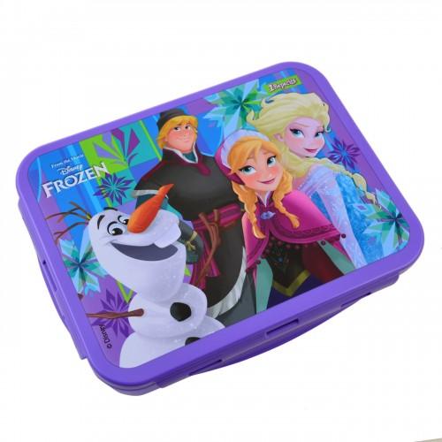 """Контейнер для еды """"Frozen"""", 1000 мл, с ложкой и вилкой 706871"""