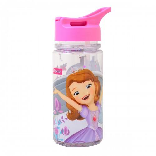 "Бутылка для воды 1Вересня с блестками ""Sofia The First"", 280 мл 706900"