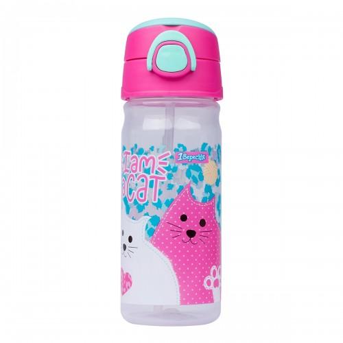 """Бутылка для воды 1Вересня """"I am a cat"""", 450 мл 707370"""