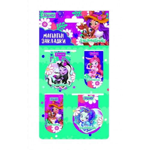 """Закладки магнитные 1Вересня """"Enchantimals"""" 707390"""