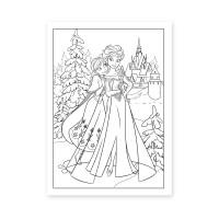 """Раскраска А4 """"Frozen"""", 12 стр."""