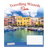 Тетрадь 1 Вересня, А-5, 60л, клетка,  Travelling Wizards