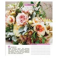 Тетрадь 1 Вересня, А-5, 60л, клетка,  Bouquet