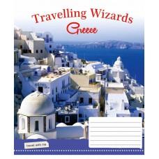 Тетрадь 1 Вересня, А-5, 96л, линия,  Travelling Wizards