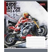 Тетрадь 1 Вересня, А-5, 36л, клетка, Moto Ride