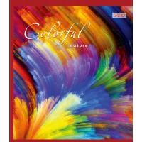 Тетрадь 1 Вересня, А-5, 48л, линия,  Colorful