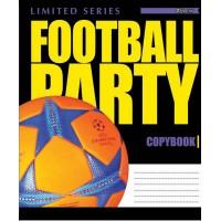 Тетрадь 1 Вересня, А-5, 24л, линия,  Football Party