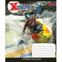 Тетрадь 1 Вересня, А-5, 36л, линия,  Extreme Sports