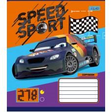 Тетрадь 1 Вересня, А-5, 12л, клетка,  Cars_Speed_Sport