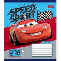 А5/12 лин. 1В Cars_Speed_Sport -17 тетрадь ученич.