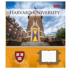 Тетрадь 1 Вересня, А-5, 12л, клетка,  Harvard College life