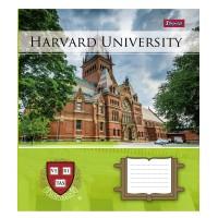 Тетрадь 1 Вересня, А-5, 12л, линия,  Harvard College life