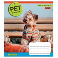 Тетрадь 1 Вересня, А-5, 12л, линия,  Pet companion
